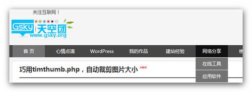 【WordPress模版】个人CMS主题wesky(5款样式自由切换)