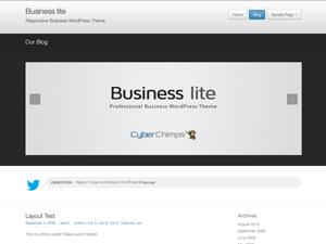 【wordpress】mini企业主题Business Lite