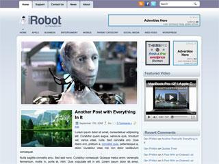 【博客主题】wordpress科技博客主题iRobot
