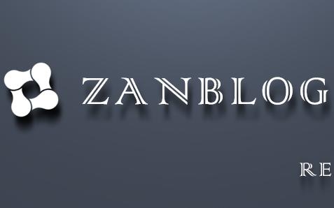 【博客主题】wordpress zanblog2.0 下载