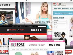 【淘宝主题】GoodStore商城购物主题