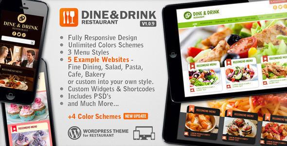 【企业主题】美食餐饮主题dine drink