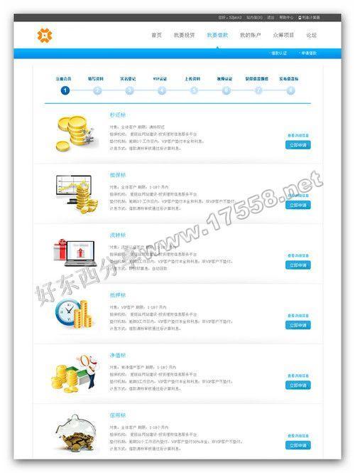 【PHP】某P2P借贷网站系统V4高级版(带众筹功能,整合Discuz)