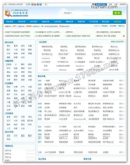 【PHP源码】35dir网站分类目录V2.0商业版程序