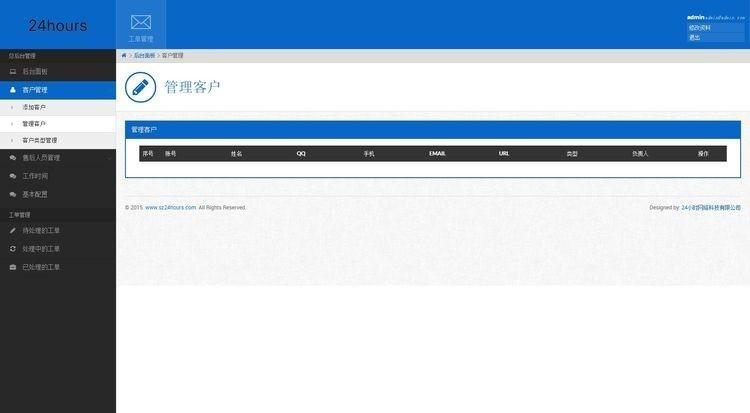 工单系统V1.0商业开源版