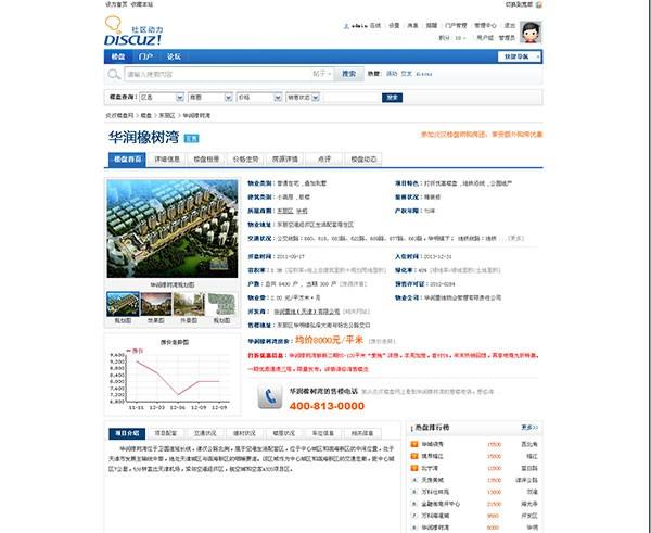 炎汉房产楼盘系统 3.5 商业版