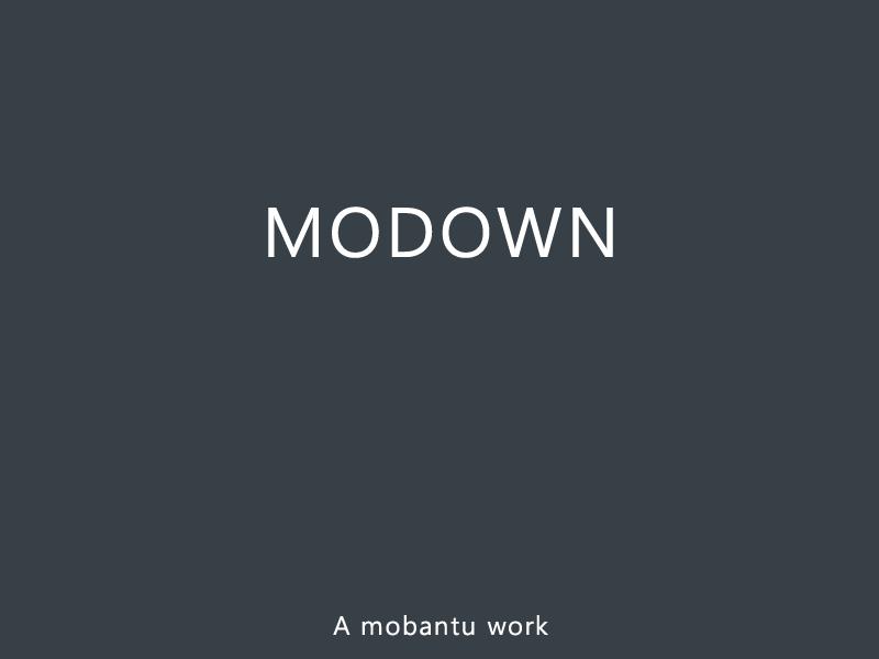 Modown v4.11免授权版+Erphpdown10.01资源付费下载插件